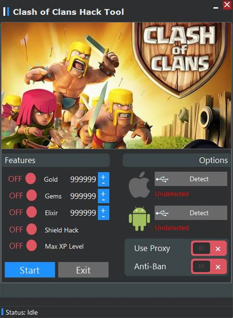 tutorial hack clash of clans android clash of clans hack