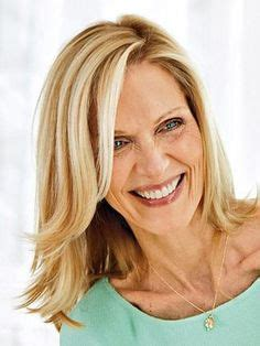 colleen christy chopped hairstyle christie brinkley long wavy hairstyles for women over 50