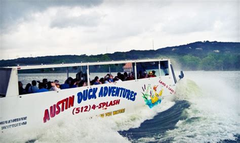 duck boat tours in austin texas austin duck adventures in austin texas groupon