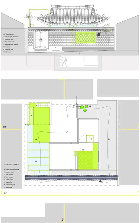 hanok floor plan hanok house floor plan house design plans