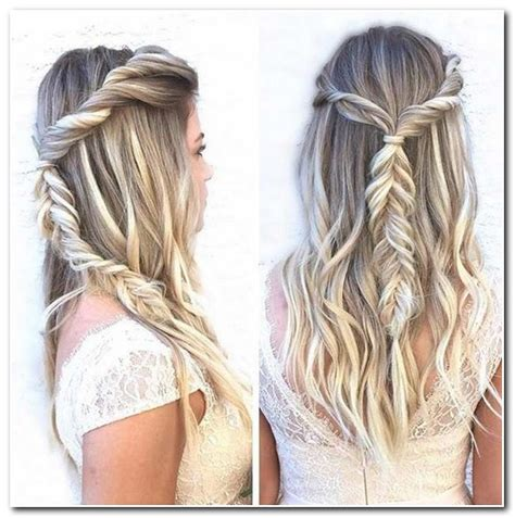 Half Up Hairstyles For Prom by Half Up Half Braided Prom Hairstyles New Hairstyle