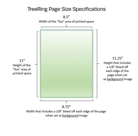 yearbook layout size cover page spread size dimensions and resolution