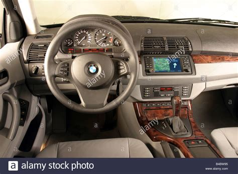 2003 Bmw X5 Interior by Car Bmw X5 3 0i Cross Country Vehicle Model Year 2003 Blue Stock Photo Royalty Free Image