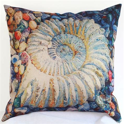 wholesale bed pillows wholesale colorful conch chair waist sofa bed pillow case