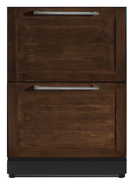 undercounter refrigerator drawers panel ready 24 3 16 inch under counter double drawer refrigerator