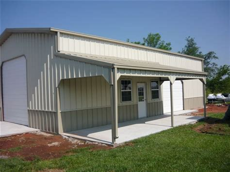 Home Shop Buildings by Metal Buildings Services