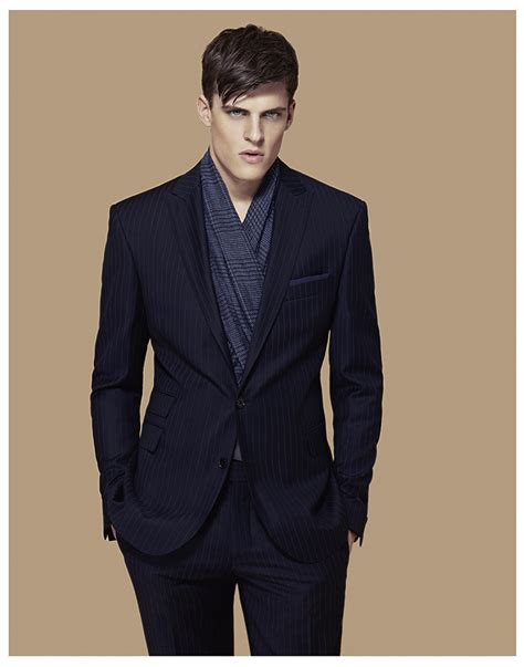 sophisticated menswear looks in cacharel fall winter
