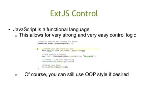 Extjs Documentation