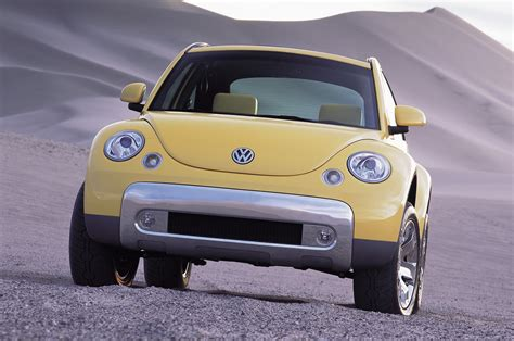 volkswagen beetle front view new volkswagen beetle dune concept teased before detroit