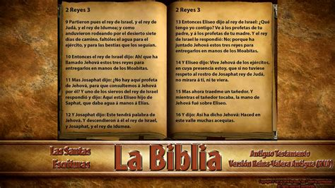 la biblia quot 2 reyes quot completo version reina valera antigua antiguo testamento youtube