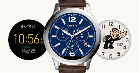 fossil q founder primul smartwatch fossil idevice ro