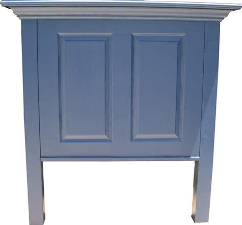 panel door headboard twin size two panel door headboard with crown molding shelf