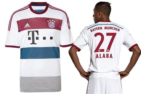 Jersey Bayer Munchen Away Go 20172018 Official is this the best looking kit in europe bayern munich unveil sharp away mirror