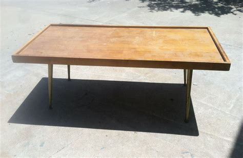 Hometalk   Ugly 60's ish Coffee Table Makeover