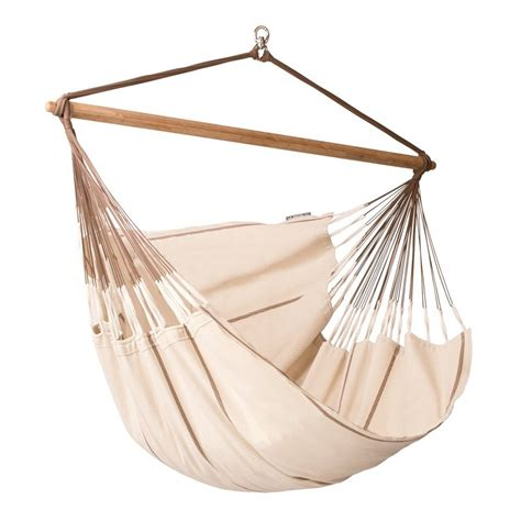 Hammock Chair by Shop La Siesta Habana Nougat Fabric Hammock Chair At Lowes
