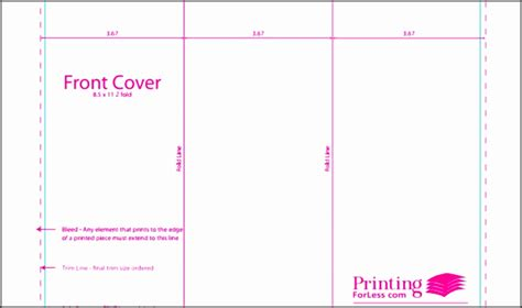 Indesign Tent Card Template by Indesign Tri Fold Brochure Template Free Bbapowersinfo 3