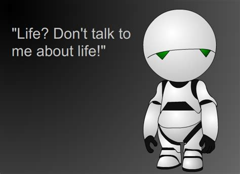 marvin the paranoid android quotes post your favorite hitchhiker s guide to the galaxy quotes here i fandom