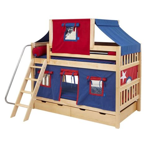 loft bed tent hot hot twin over twin deluxe tent bunk bed www