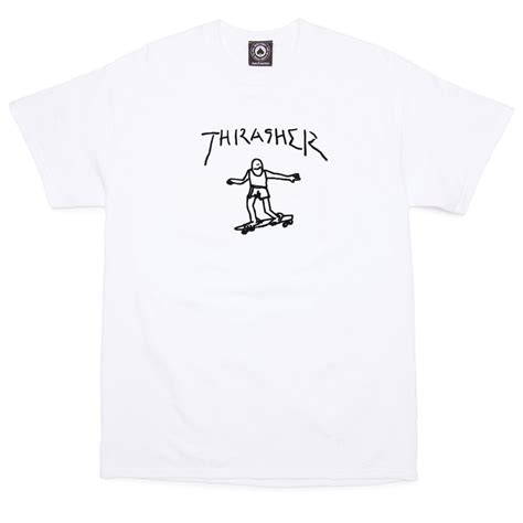 Tshirt Thrasher White thrasher gonz t shirt white