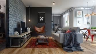 home designing com eclectic single bedroom apartment with open floor plan