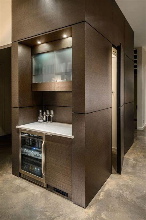ultra sleek modern property  dwell  despard bars