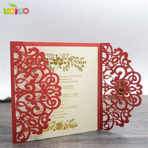 Marriage Invitation Cards by Free Shipping Bengali Wedding Invitation Card Arabic