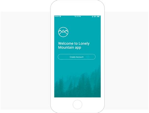 material design app mockup prototyping login and sign up forms for web and mobile