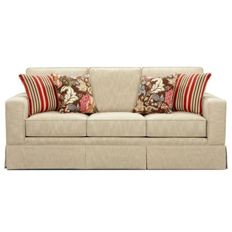 Beige Color Sofa Stripes Cushions Floery Motive Cushions Three Seats Kvriver Com