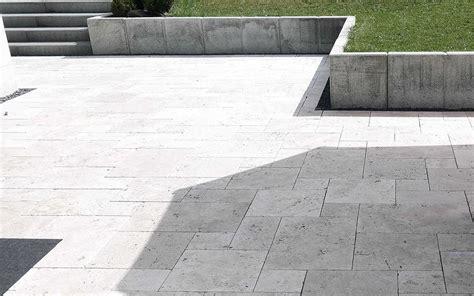 terrasse travertin natursteinplatten terrasse travertin zimerfrei