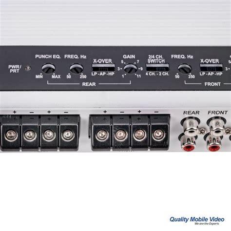 rockford fosgate p400 4 wiring diagram panasonic wiring