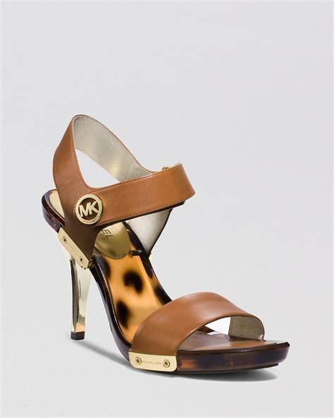 micheal kors high heels michael michael kors open toe platform sandals high
