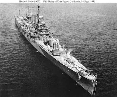 naval warfare: uss boise (cl 47)