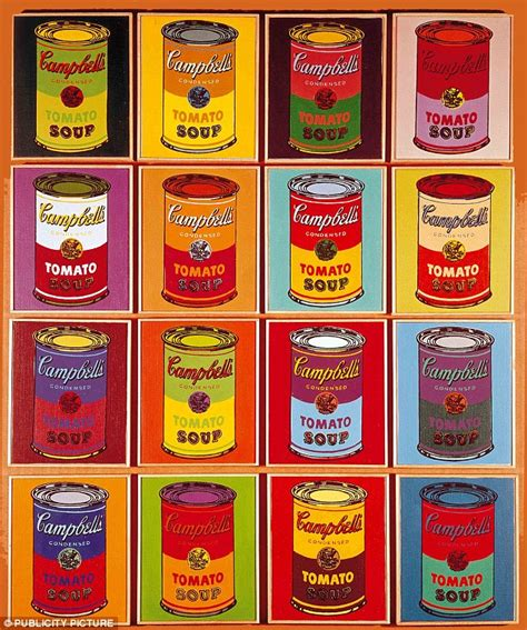 andy warhol soup cans the of soup cbell s channels andy warhol global