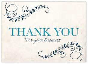thank you cards for business customers design ideas for business thank you cards printkeg
