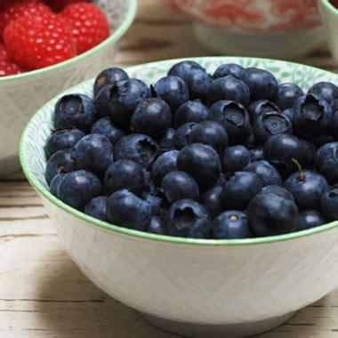 wild organic blueberries