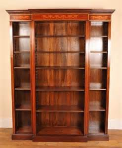 Bookcases For Sale Sheraton Open Breakfront Bookcase For Sale