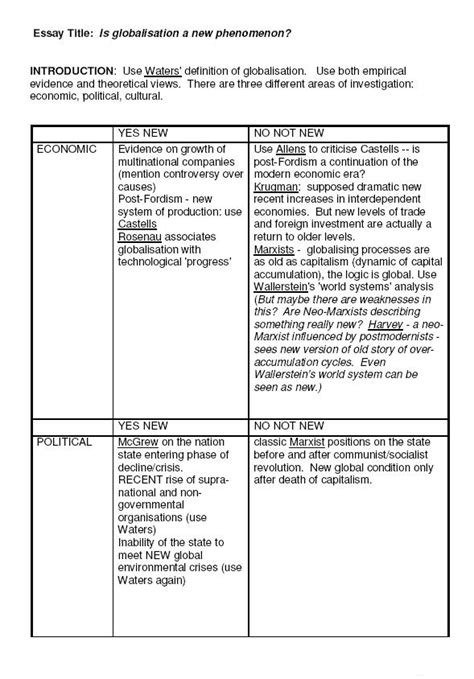 essay plan template developing a line of reasoning s3 of sussex