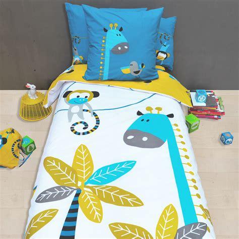 linge de lit pour enfant housse de couette et taie d
