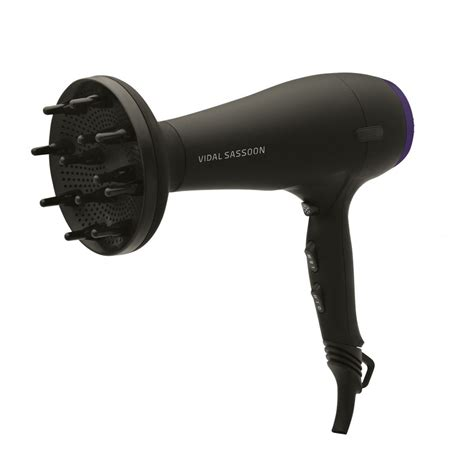 Vidal Sassoon Hair Dryer Diffuser vidal sassoon vsdr5834duk anti frizz ionic 2000w volume diffuser hair dryer new ebay