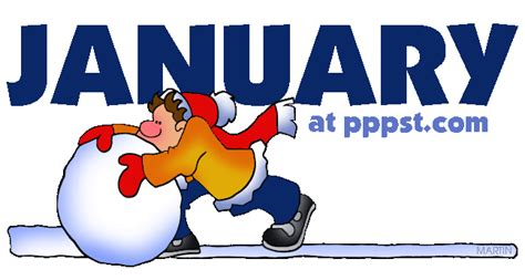 january clipart free powerpoint presentations about january holidays