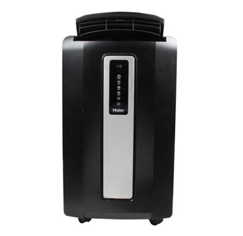 haier 12,000 btu portable air conditioner, hpf12xcm lb