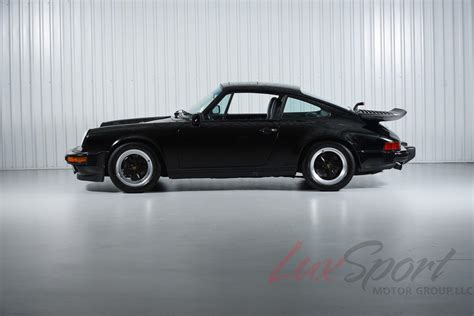 porsche coupe black 1987 porsche 911 3 2 carrera coupe black black 32 000