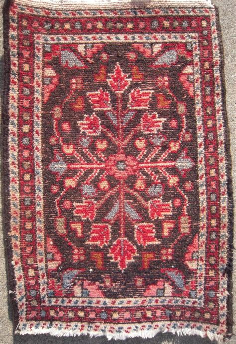 shop rugs by size c1940s rug table top size 16 quot x 23 quot from bluesprucerugsandantiques on ruby