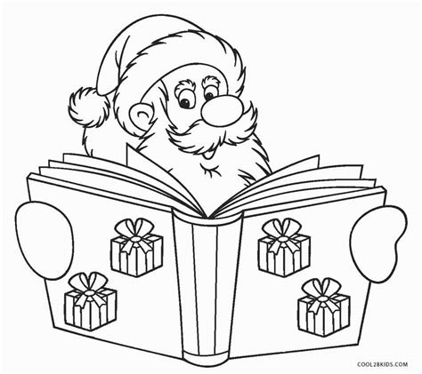 santa claus coloring pages free printable santa coloring pages for cool2bkids