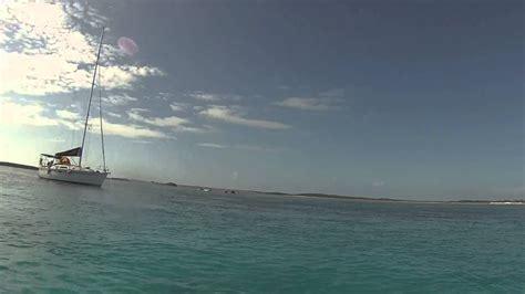 clear bottom boat clear bottom boat at norman s cay exumas bahamas youtube