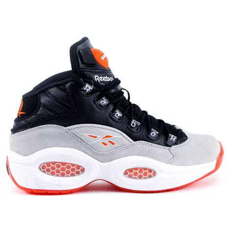 allen iverson shoes reebok question mid black white flux allen iverson
