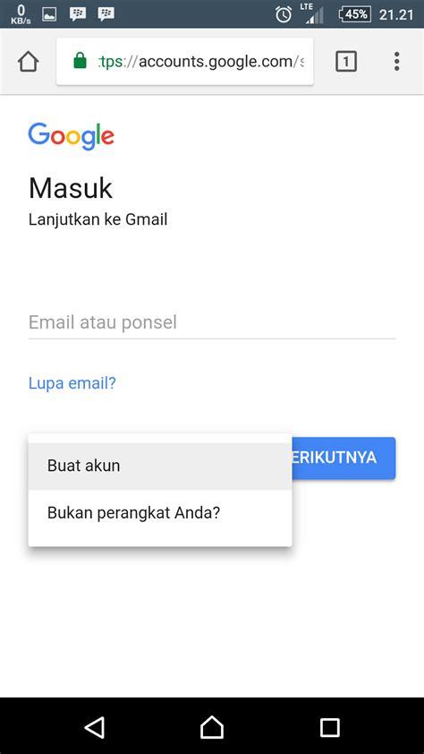 membuat akun youtube dari hp cara membuat akun gmail dari google dari ponsel rifanytop
