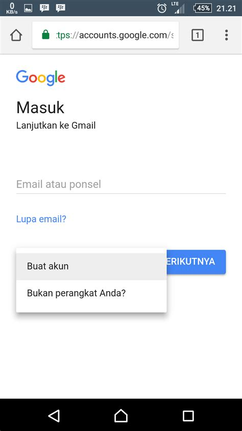 jelaskan cara membuat akun gmail melalui web browser cara membuat akun gmail dari google dari ponsel rifanytop