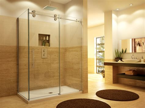 bathroom with glass doors glass shower door installation in franklin lakes nj glass
