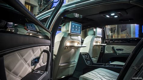 bentley flying spur 2017 interior 2014 bentley flying spur moonbeam interior rear seats